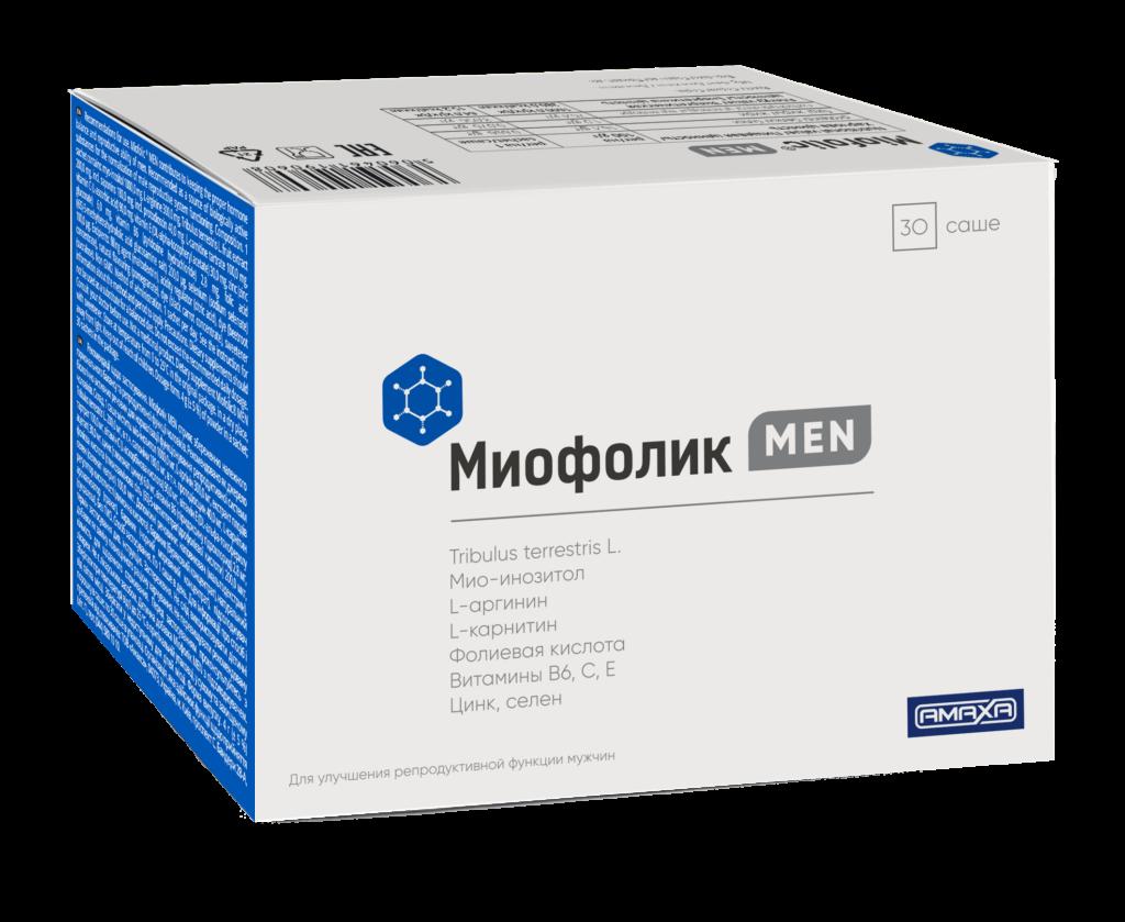 Миофолик Men, 3